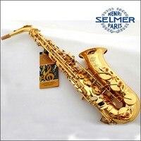 Hot Free Professional Saxophone E Flat Sax Alto France Henri Selmer Alto Saxophone 80 Saxfone Top
