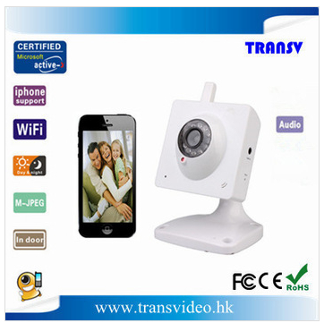 Wireless Battery Operated Motion Sensor Security Camera System Indoor