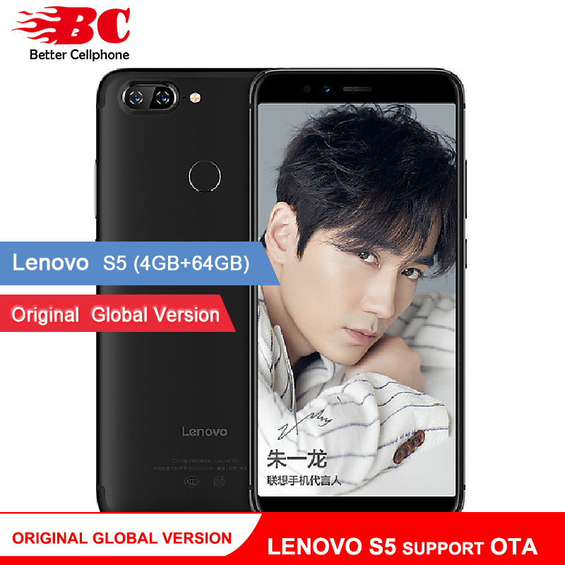 Ursprüngliche Globale Version Lenovo S5 K520 K520T Telefon OTA 4 gb RAM 64 gb ROM Snapdragon 625 Octa Core ZUI 3,7 Android 8.0 Gesicht-ID