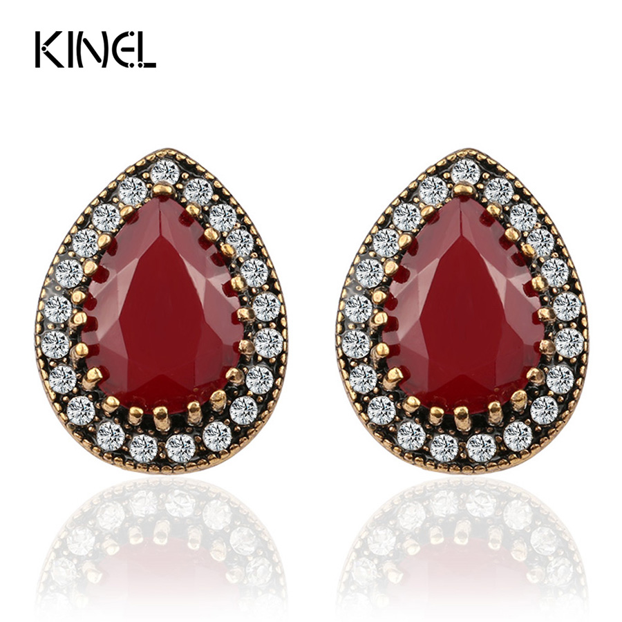 Indian Jewelry 2017 Designer Fashion Earrings For Women Water Drop