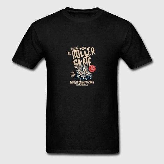 00e89f0c40 Funny Casual Men T Shirt Unisex Roller Skate Tshirt Crazy Crew Neck  Camisetas Hombre Summer Hiphop Tops