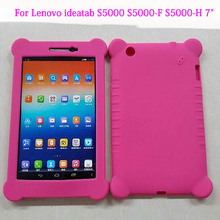 ocube 100pcs Rubber Silicon Protective Shell Back Silicone Case Cover For Lenovo ideatab S5000 S5000-F S5000-H 7″Tablet
