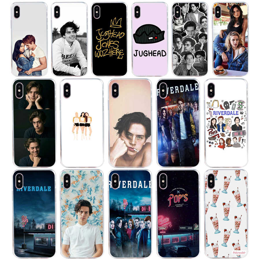240H American TV Riverdale Soft Silicone Tpu Cover phone Case for iphone 5 5s se X XR XS Max case