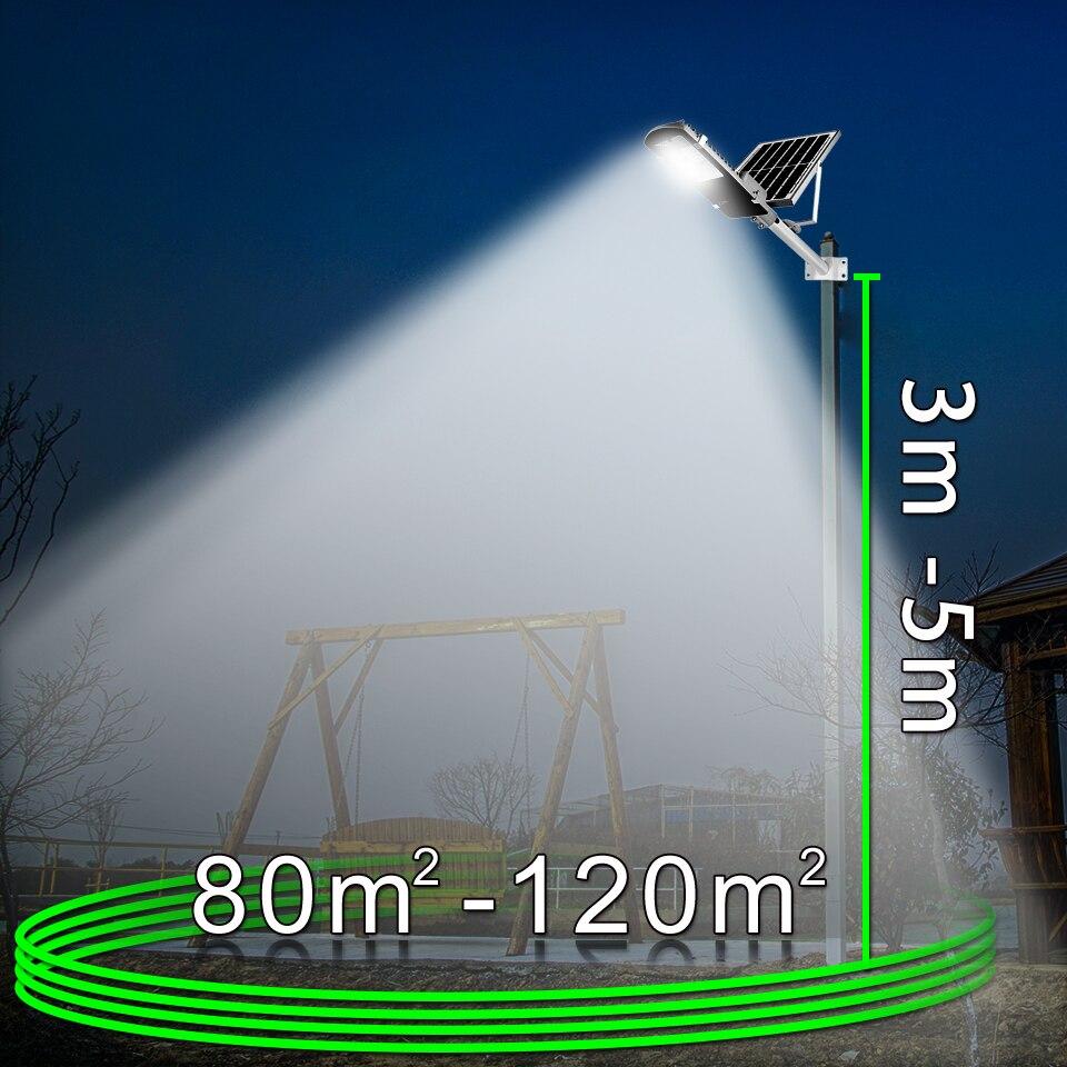 街路灯の庭 屋外ソーラー街路灯海外倉庫防水大型太陽電池パネルリモコン高輝度 Led GUGI