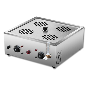 Buns Bread Steamed Machine Electric Steamer Commercial Furnace Desktop Small Cage Steamer Steam Chartered Plane