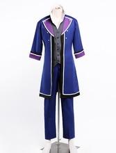 K Fushimi Saruhiko Cetro de Halloween Cosplay 4 Uniforme