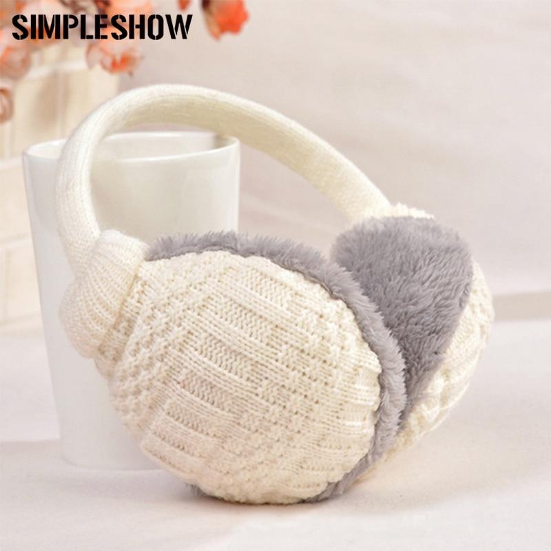 Aodewe Winter Warm Earmuffs Men Women Ear Bag Warm Plush Earmuffs