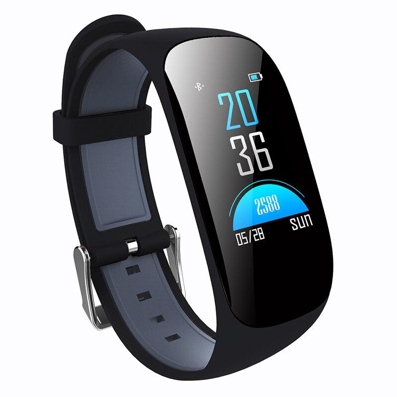 MOCRUX Z17C Fitness Bracelet Couleur Écran IP67 Étanche Fréquence Cardiaque Bande À Puce avec moniteur d'oxygène Dans Le Sang l'activité GPS tracker