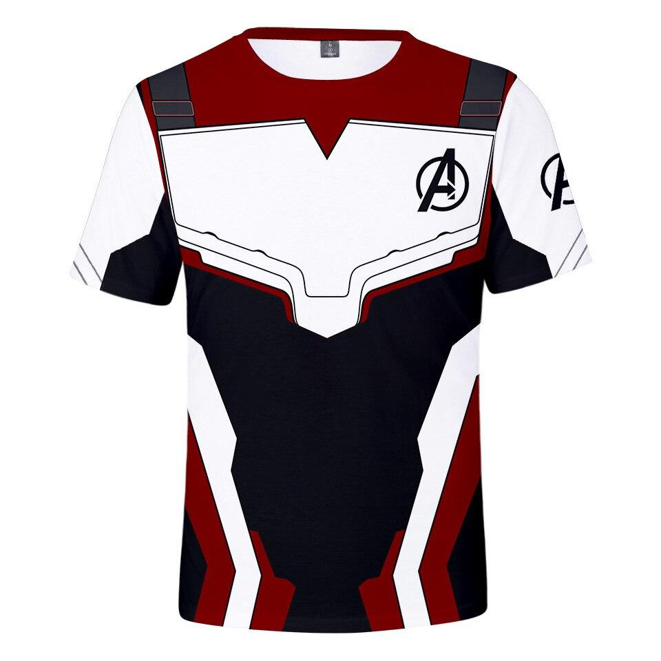 Z&Y 3-20 New Movie Avengers T Shirt Endgame 4 T-shirt Superhero Hulk Tees 3D Print Baby Boy Clothes Summer Tops Fashion
