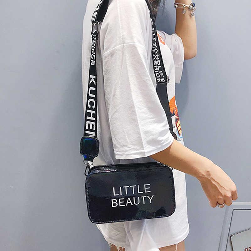 2019 moda kobiety pcv galaretki przejrzyste łańcucha torba na ramię przepasana dla dużego ciężaru lato torebka Dropshipping