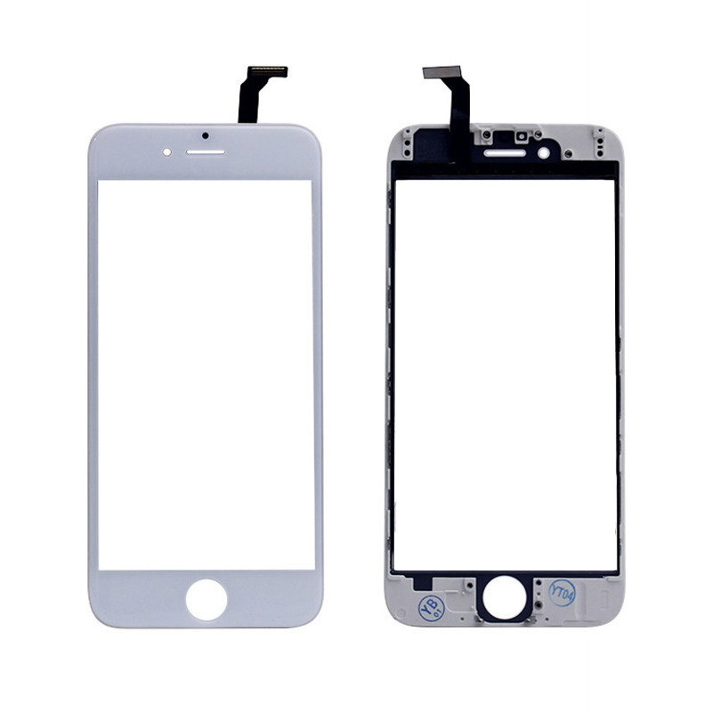 Image 2 - Touch Screen Digitizer Frame For iPhone 5 5s 6 plus 6S Touchscreen Front Touch Panel Glass Lens 6p 6s Phone Accessories + film-in Mobile Phone LCD Screens from Cellphones & Telecommunications