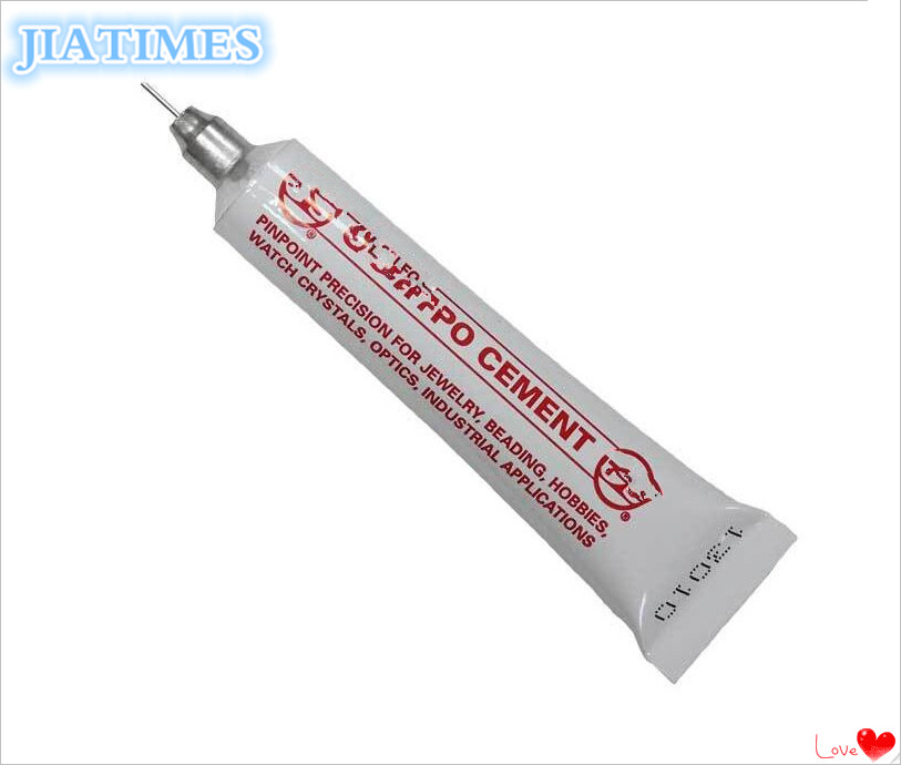 Free Shipping 1pcs Crystal Hypo Cement Watch Crystal Glue For Watch Repair
