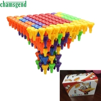 2017 Hot 96PCS Toy Building Blocks Montessori Therapy Fine Motor Toy For Toddlers