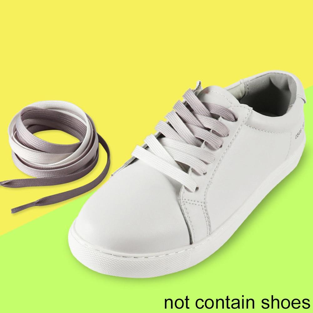 Flat Durable RFID Blocking Rainbow Shoelace Shoestring Gradient RampFlat Durable RFID Blocking Rainbow Shoelace Shoestring Gradient Ramp