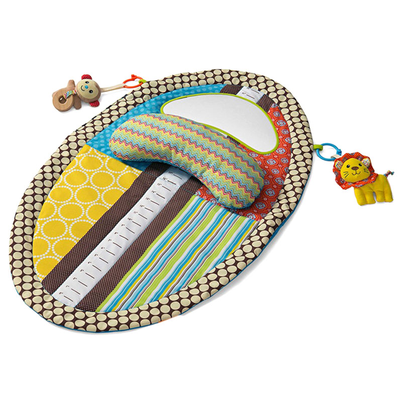 Newborn Crawling Pad Polyester Infant Baby Blanket Learning Education Play Game Mat With Pillow Mirror Dolls FJ88