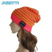 2017 Fashion Beanie Hat Cap Wireless Bluetooth Earphone Smart Headset Speaker Mic Winter Outdoor Sport Stereo