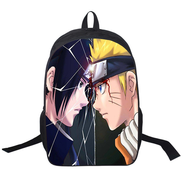 Naruto Uzumaki Printing School Bags Backpack