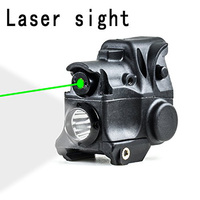 IORMAN Original Tactical Green Dot Laser And LED Flashlight Combo Sights For Pistol Handgun Airgun Aiming
