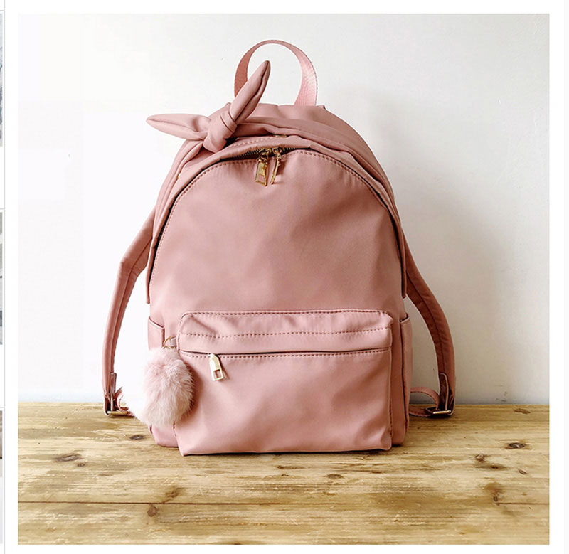 8c4eedd2b451 Women Backpacks Nylon School Bag For Teenager Girls Female Travel ...