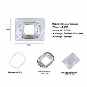 Image 2 - LED לגדול מנורות פיטו עם העדשה רפלקטור 20 W 30 W 50 W 110 V 220 V COB שבב LED ספקטרום מלא לגדול אור הנורה אור הזרקורים הארה