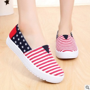 New Spring Canvas Women Shoes