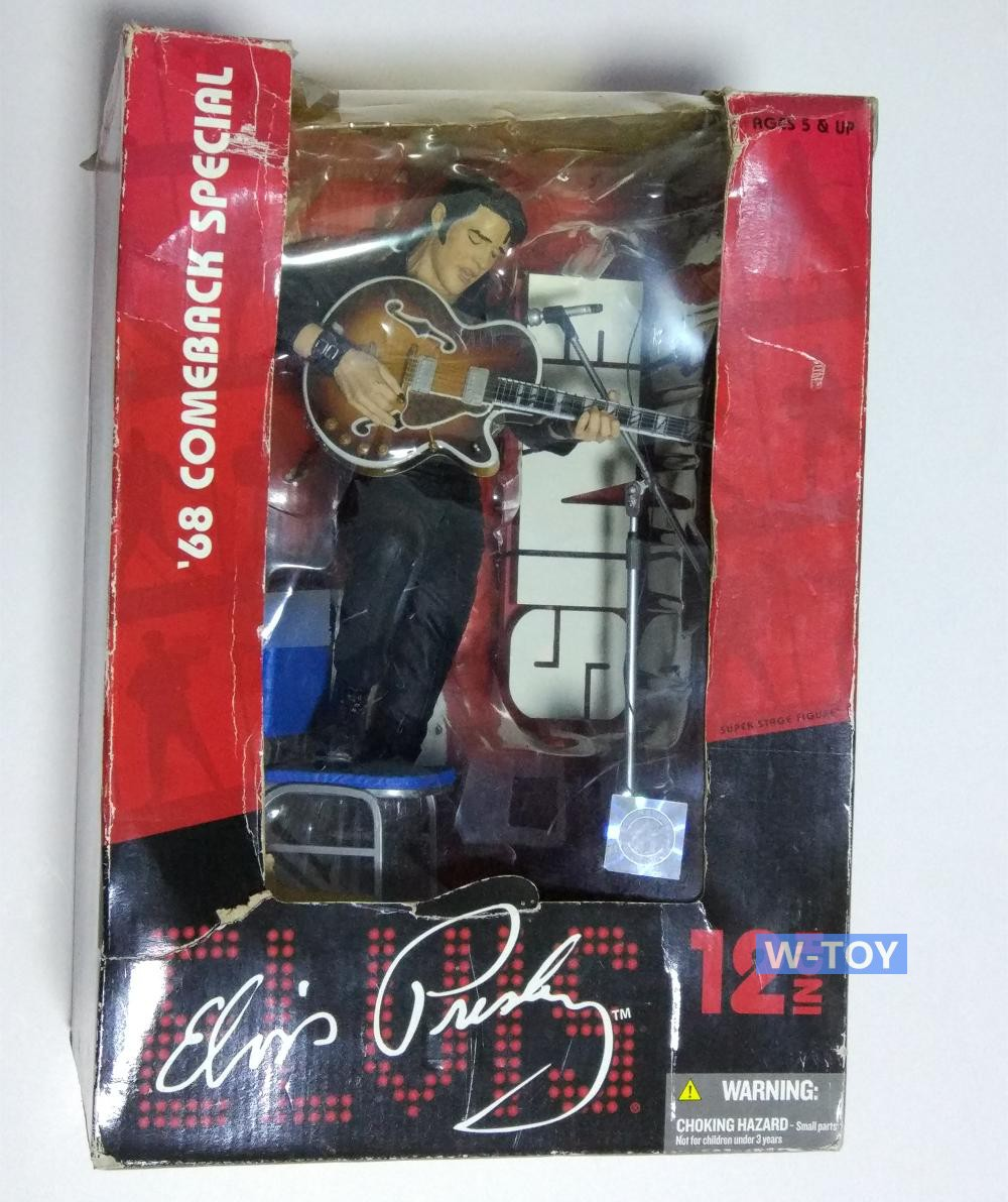 12 inch figure Star rock singer Elvis Presley doll car ornaments out of print out of print italeri 1 35 m4a1 sherman 225