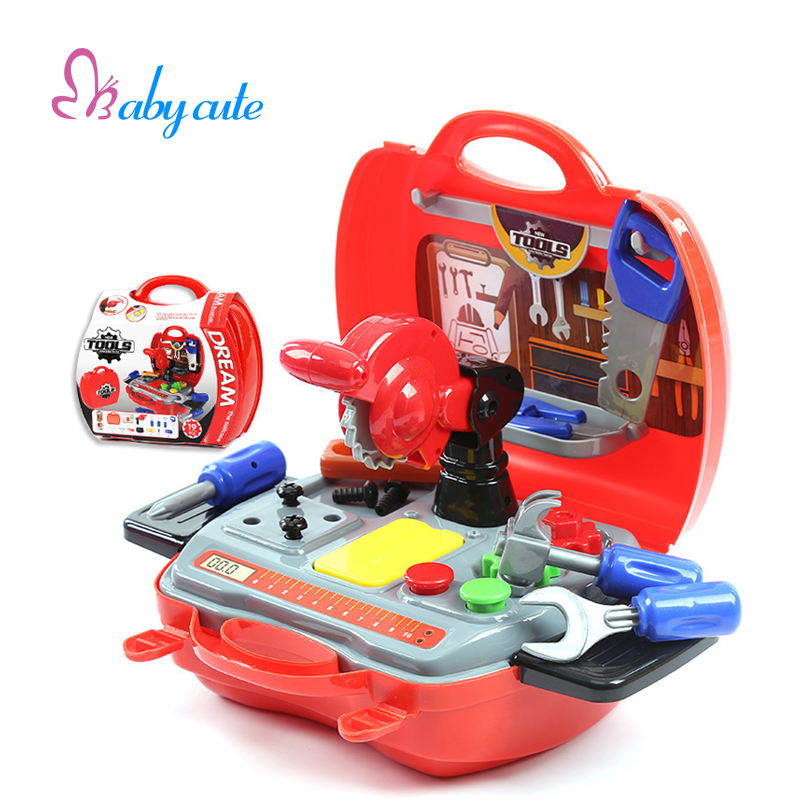 Children Pretend Play Toys Simulation Repair Tool Set ...