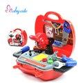 Niños pretend play toys simulación conjunto de herramientas de reparación de plástico educativo temprano toys ejercicio habilidad muchachos regalo