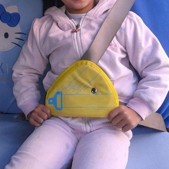 1 Pcs Sabuk Pengaman Pad Anak Keselamatan Mobil Sabuk Pengaman Adjuster Penutup Pelindung Klip Booster Tali Harness Bantalan Mobil aksesoris