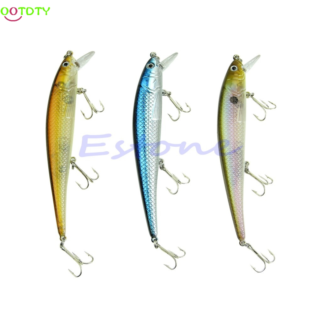 20g 15cm Sinking Fishing Lure Crankbait Crank Bait Bass Tackle Treble 3 Hook