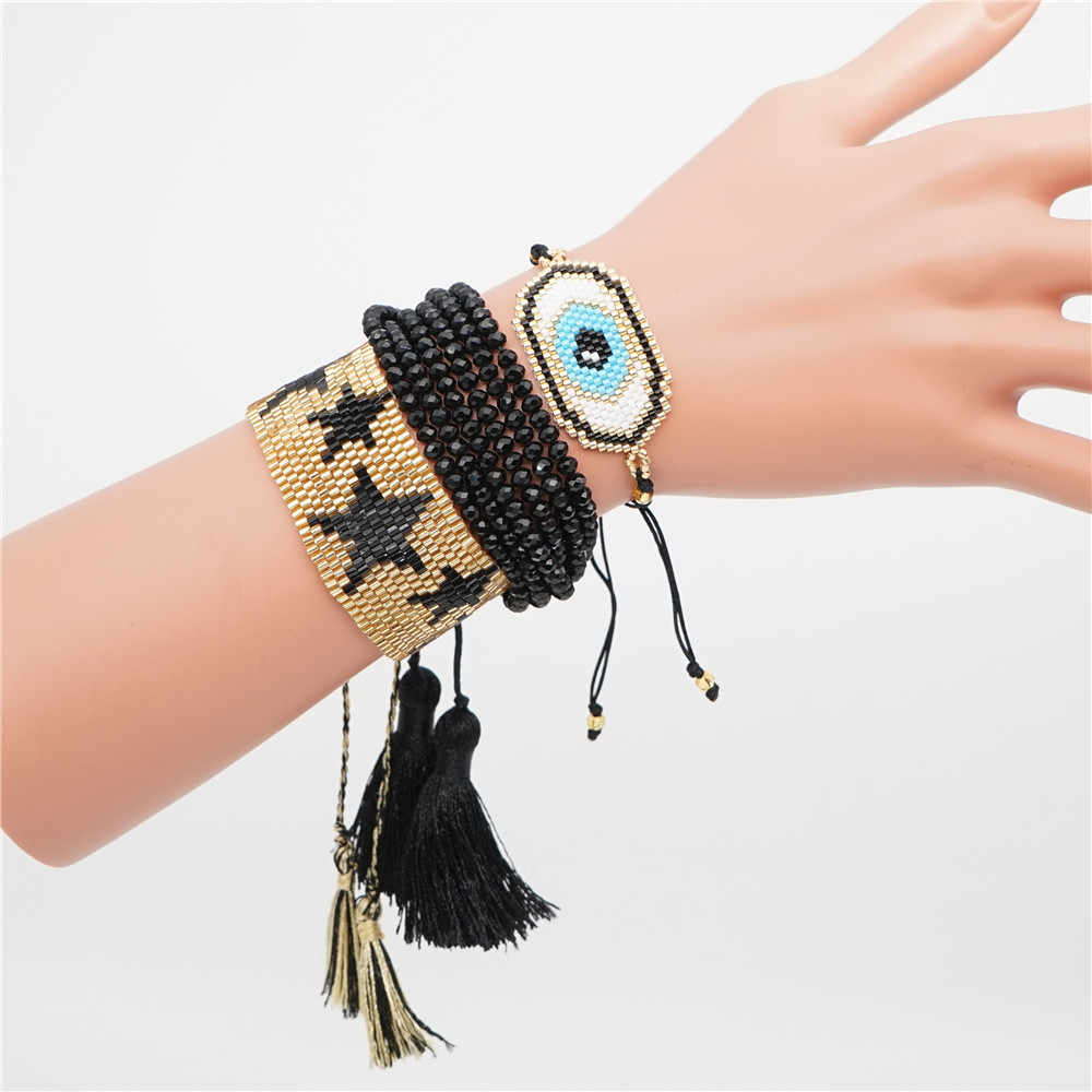 Shinus MIYUKI Bracelet Delica Seed Beads Boho Beadweaving Bijoux Fashion Insta Jewels Handmade Accessories New Summer DIY 2019