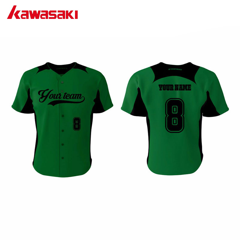 82a22e120 Kawasaki Brand Training Baseball jerseys Custom Sublimation Printing Fans  Top Shirt Collage Practice Softabll Jersey Shirts