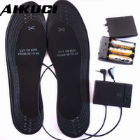 High Quality Winter Warming Shoes For Size 38 46 Battery Electric Heating Insole