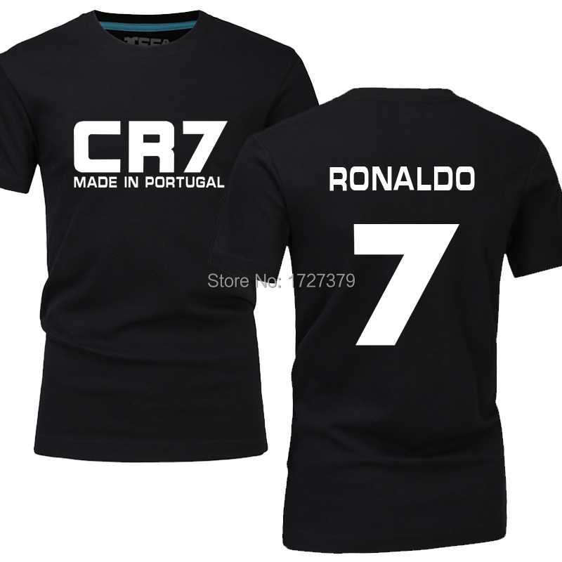 check out d206b c9773 Cheap wholesale CR7 Football T Shirt Men Star T shirt ...
