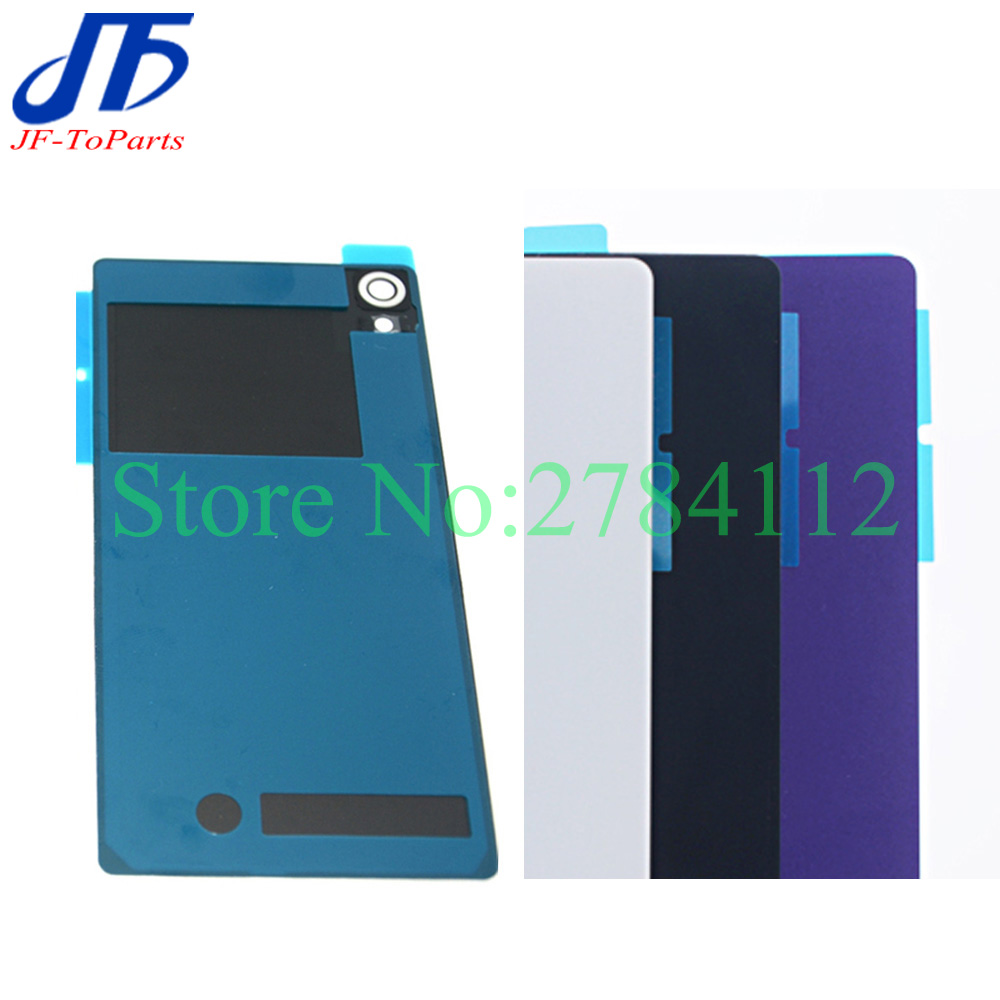 best authentic 45170 18a15 10Pcs Battery Glass Cover Housing replacement For Sony Xperia Z2 L50W Back  Cover Door Case With Adhesive-in Mobile Phone Housings from Cellphones & ...