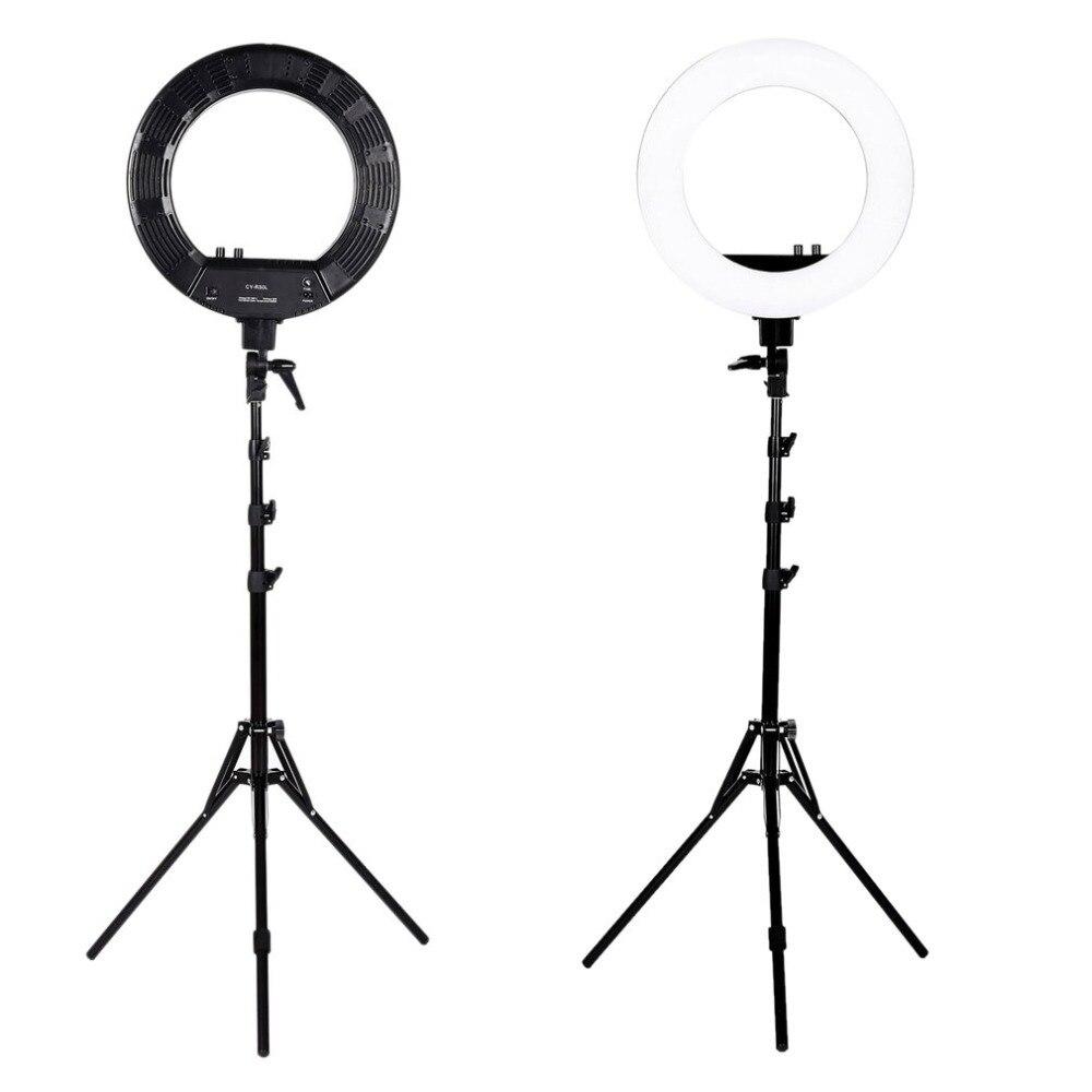 180 LEDs 12 inch Annular Ring Light LED Fill Light Bright LED Video Studio Photo Flash Ring Light Brightness Photography Lamp