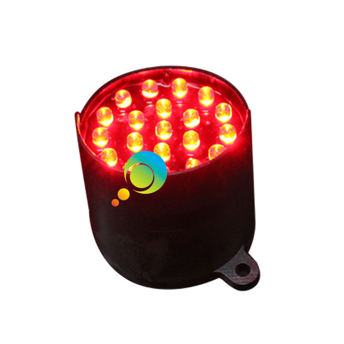 52mm red Epistar LED use for arrow board LED pixel module traffic signal light