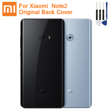 Xiao Mi Xiaomi Original Glass Battery Rear Case For Note 2 MI Note2 Back Cover Phone Backshell + Tool