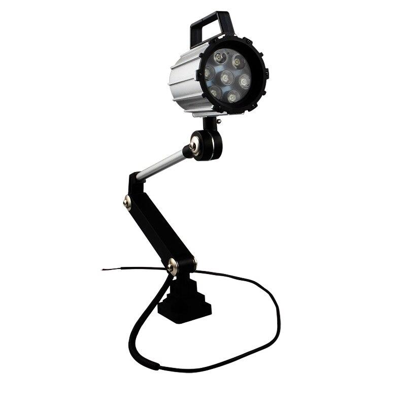 Industrial Lighting 7W/12W IP68 Adjustable LED Machine Work Light for Lathe,CNC Milling Machine,Drilling Machine-Long ArmIndustrial Lighting 7W/12W IP68 Adjustable LED Machine Work Light for Lathe,CNC Milling Machine,Drilling Machine-Long Arm