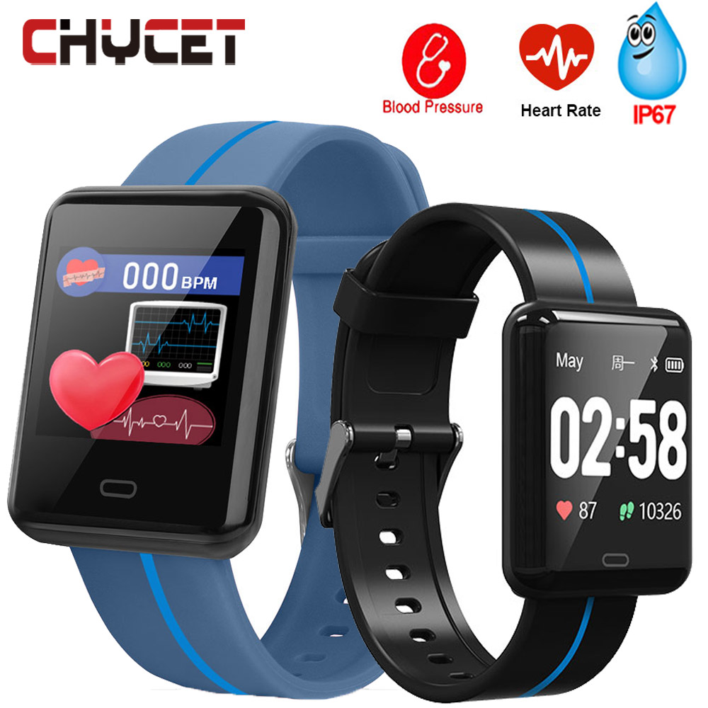 Soonhua Smart Bluetooth Motion Wristband Fitness Tracker Heart Rate Blood Pressure Monitoring Sleep Monitor With Charging Base Elegant In Style Smart Wristbands