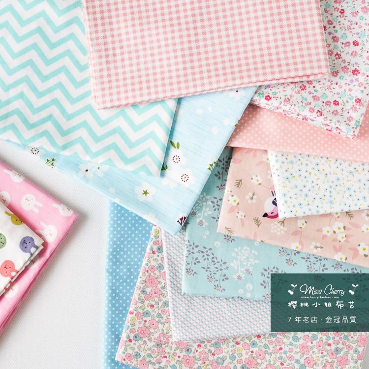 160x50 cm diseño de algodón de navidad de dibujos animados tissus alta calidad tecidos diy artesanía tela tela patchwork edredones 180 g / m