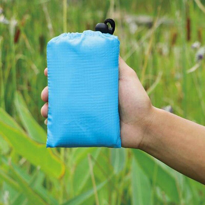 Waterproof Package Beach Mat Picnic Blanket Tourist Blanket Portable Travel Picnic Mat Camping yoga Pad Mattress Folding Bed
