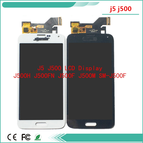 <font><b>LCD</b></font> Display phone 2015 For Samsung Galaxy J500 <font><b>J500F</b></font> J500FN J500M J500H Touch Screen Digitizer display j5 2015 <font><b>J500F</b></font> <font><b>LCD</b></font> image