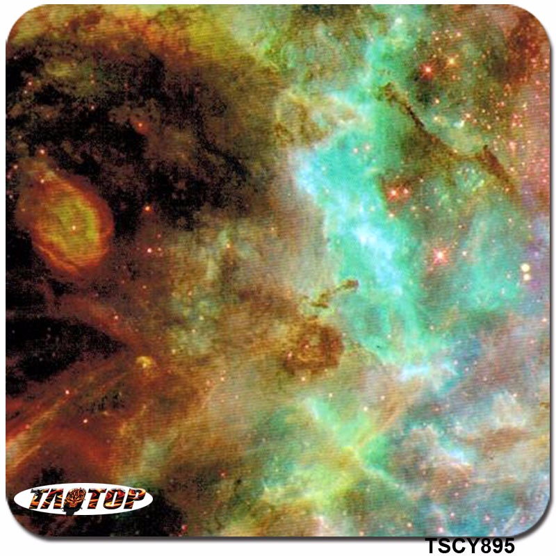 HYDROGRAPHIC WATER TRANSFER HYDRODIPPING FILM HYDRO DIP GALAXY SPACE STARS 2M