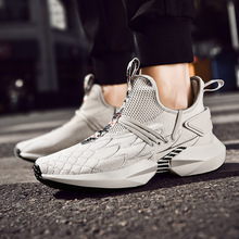 Couple models fashion sports shoes new wind casual tie trend mens wild running men