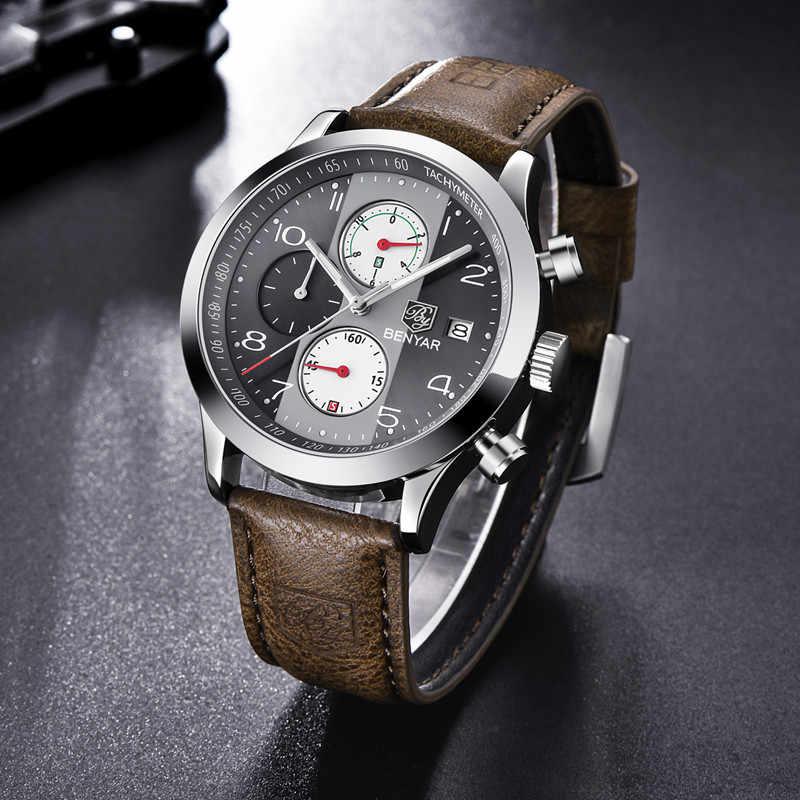 9bf7928983b5 ... BENYAR relojes de hombres muñeca relojes deporte digital militar reloj  hombres reloj de ...