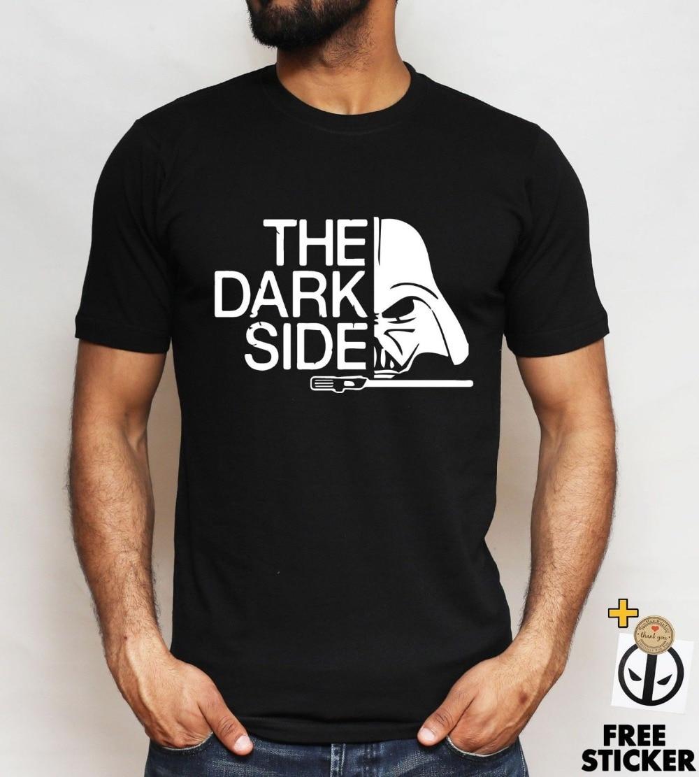 2018 New Design Cotton Male Tee Shirt Designing Star Wars Darth