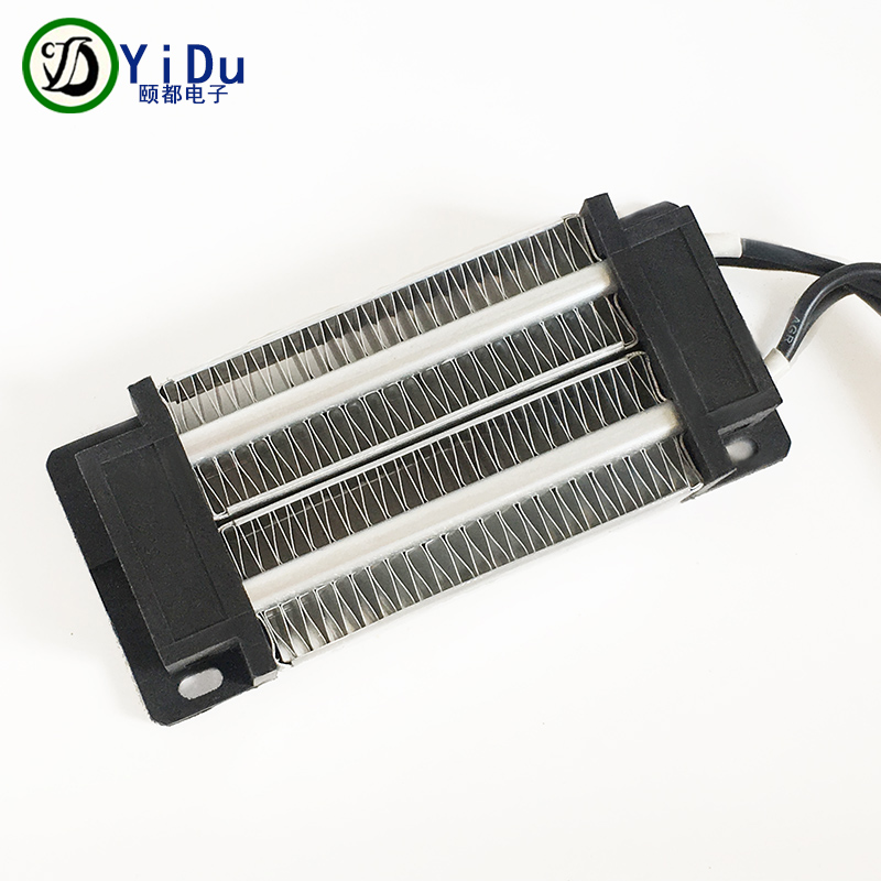 PTC ceramic air heater constant temperature heating element 200W 24V 120*50