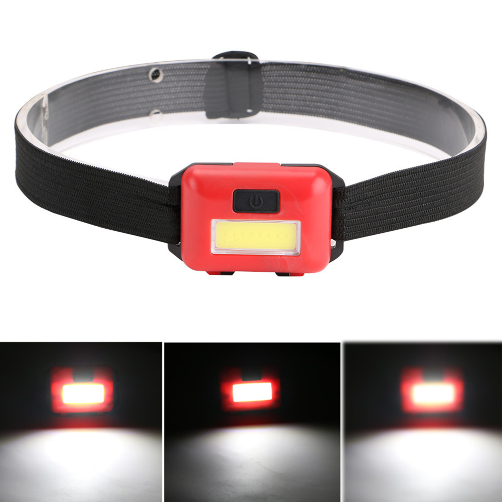 COB Safe Portable Super Bright Headlamp Running Waterproof Outdoor Night Riding Mini