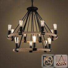 lámpara circular RETRO VINTAGE